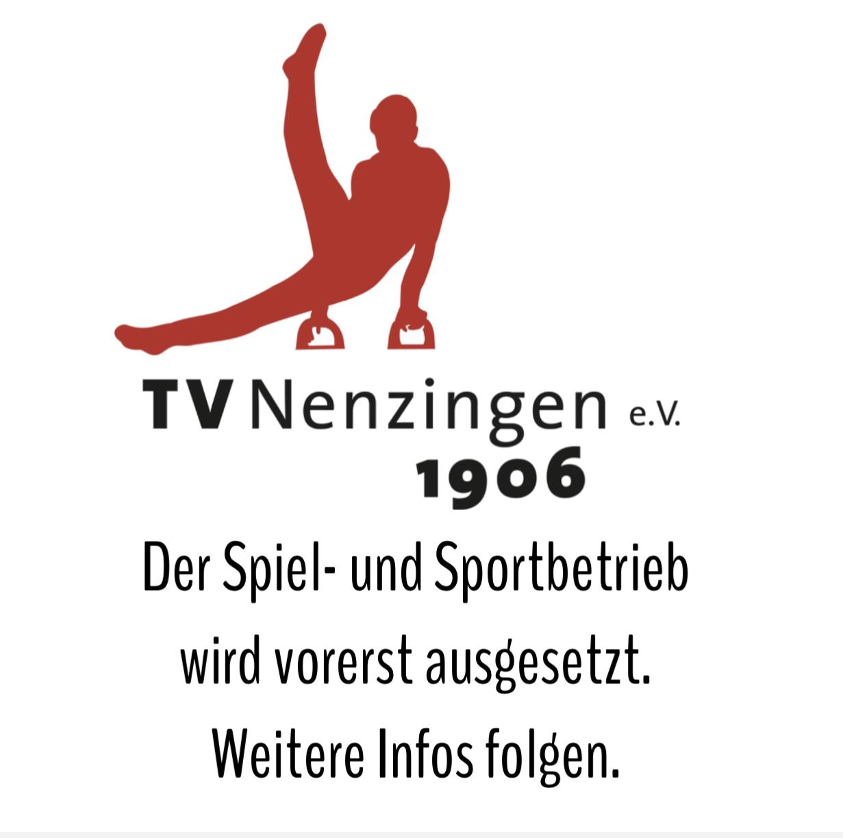 Spiel- und Sportbetrieb wird vorerst ausgesetzt